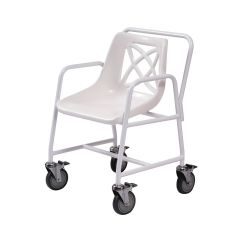 Mobile Shower Chair With Brakes