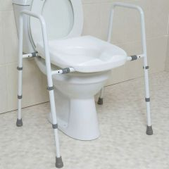 Mowbray Toilet Seat and Frame Width Adjustable - Free Standing