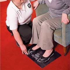 Non-Slip Floor Mat Dycem Nose Over Toes