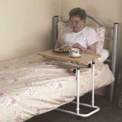 Over Bed Table - Ht Adjustable (Wheeled)