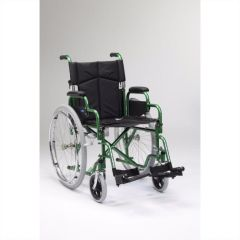 Green Self Propelled Wheelchair