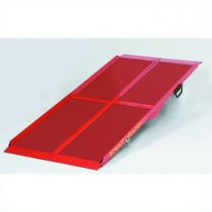 Red Smart Ramp for Wheelchairs and Mobility Scooters