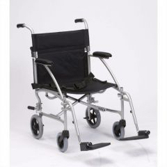 Lightweight Folding Travel Wheelchair with Carry Bag
