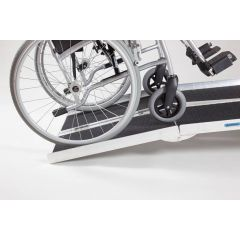 Multi-fold Economy Wheelchair Ramps with Grip Surface