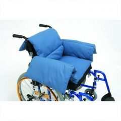 Pillow with Arms and Back for Wheelchairs