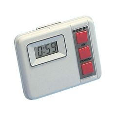 White Electronic Countdown Timer (19 Hours 59 Minutes)
