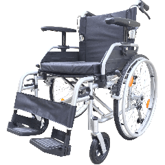 Z-Tec T LINE Aluminuium Self Propelled Wheelchair With Height Adjustable Armrests
