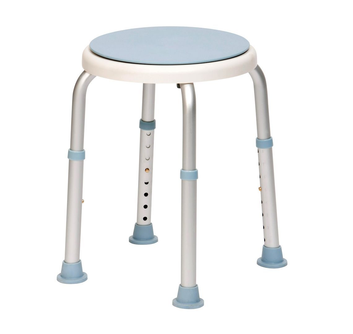 Bath Stool With Rotating Seat Essential Aids Uk