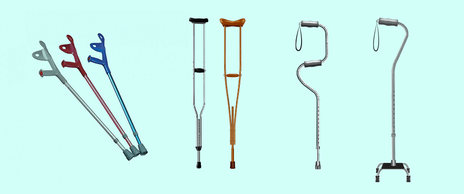 The Evolution of Crutches - From Ancient Egypt to Bill Clinton