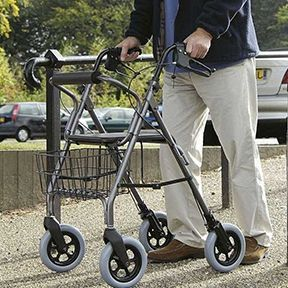 Rollators can be excellent rehabilitation Aids After a Stroke