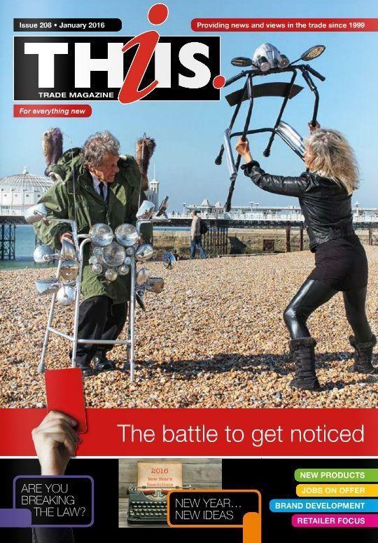Quadrosenior on the front cover of Thiis magazine